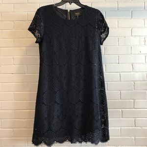 Laundry by Shelli Segal Black Lace Dress, 12P